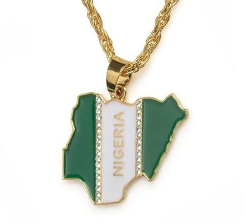 customizable map pendant jewelry wholesale custom multi- shape  map necklace earrings for travelling and gift