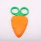 "HD-M159 Good price 4"" Stationery School Safety Paper Cutting Scissors with plastic cap"