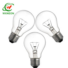 Edison Screw In Light Bulb Round clear light bulbs 40w