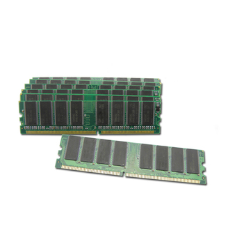 KINGSTAR 2GB (2 x 1GB ) DDR DIMM (184 PIN) 333Mhz PC2600 CL 3.0 DESKTOP MEMORY