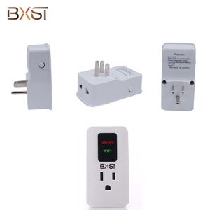 CE,CCC,RoHS Intelligent Easy-Setup Wi-Fi Smart Socket , Wifi Smart Power Socket , Protector with Delay Time Selection Button
