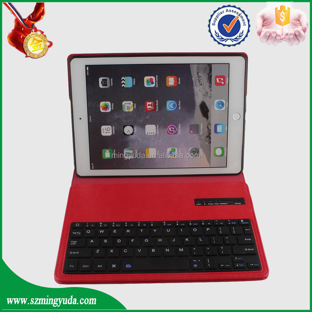 one plus one flip PU leather tablet case and Bluetooth keyboard for ipad air