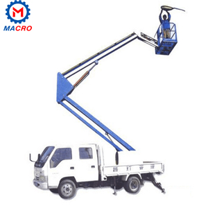 8-14m lifting height 200kg capacity trailer mounted boom lift genie