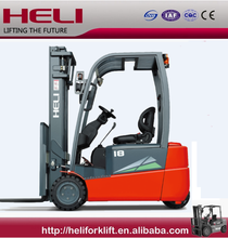 China Top1 HELI Brand 1.5 ton three wheel electric forklift