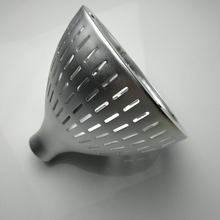 TOP quality high precision custom clear anodized metal lampshade