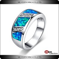 Buy Colorful opal stone ring designs for in China on Alibaba.com