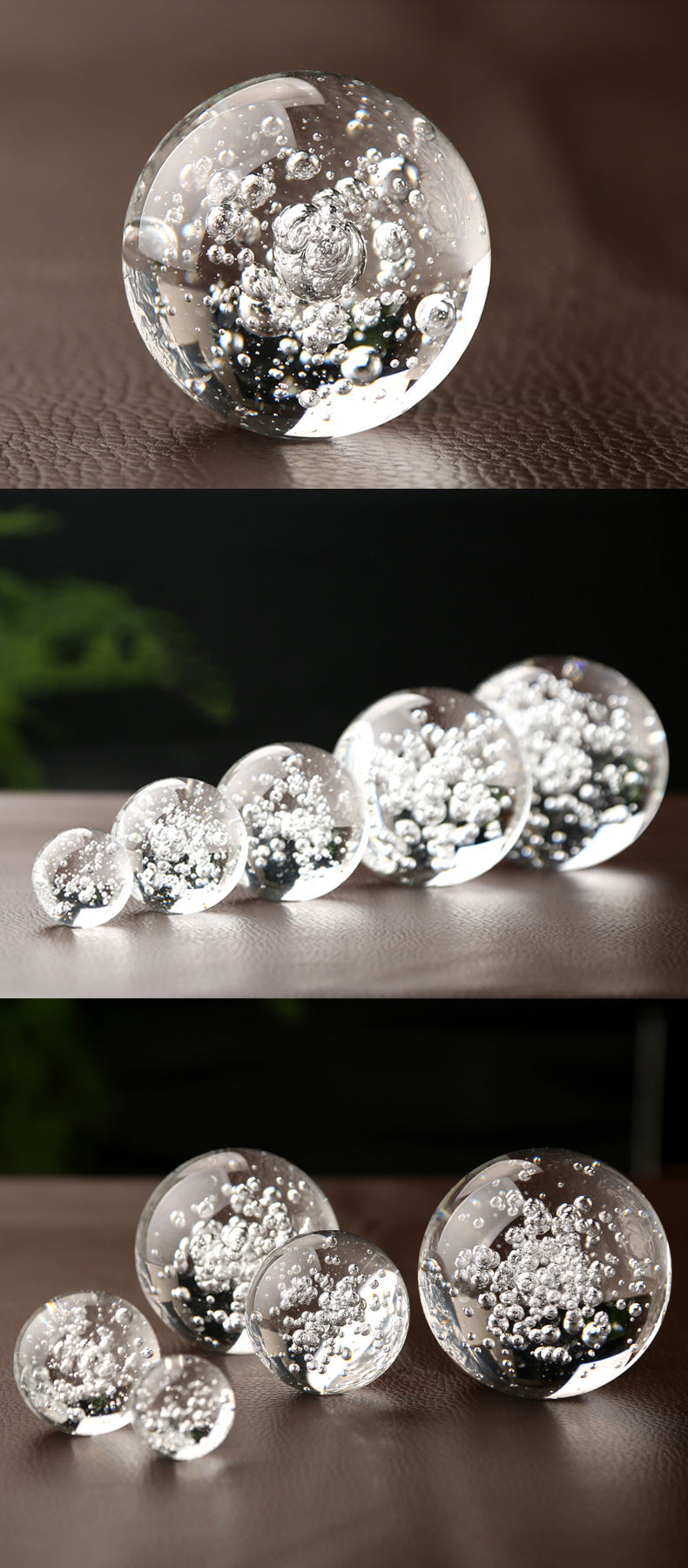 Wholesale 120mm 150mm 180mm transparent clear perfect solid K9 glass engraving crystal ball for Feng Shui decorative art