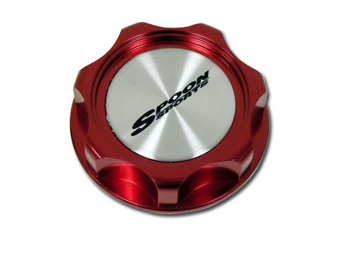 SPOON SPORTS OIL Filler CAP in RED Billet Aluminum for Honda Acura Type R Type-r TYPE-S S GT Civic Integra Si CRZ CRX GSR Prelude Accord NSX RS LS GS CRV CR-V CRZ CR-Z TSX Element Fit S2000 JDM80 81 82 83 84 85 86 87 88 90 91 9293 94 95 96 97 98 00 01 02 03 04 05 06 07 08 09 10 1980 1981 1982 1983