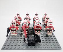 13 шт./лот, Звездные войны, на заказ, совместимые с Legoeinglys, клон, штурмовик, солдат, солдат, Империя, детские мини-игрушки, блоки(Китай)