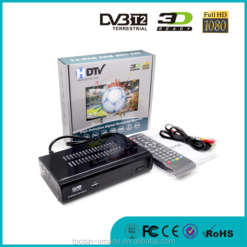 Lowest price T2 for sale!!! factory price have stock HD cable and antenna