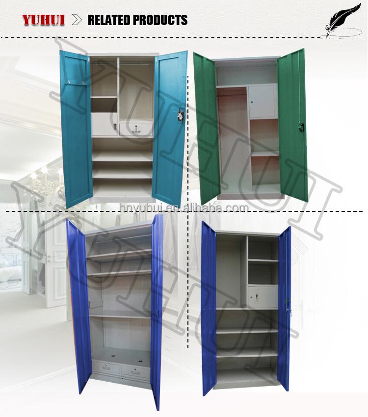 Luoyang Yuhui Home Furniture Manufacturer Modern Steel Almirah ...