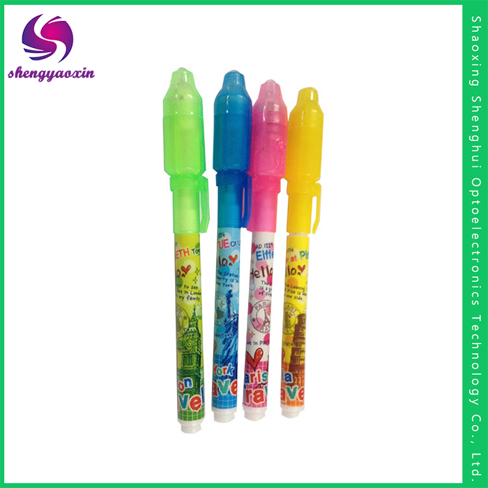 China Supplier Zhejiang Promotion Invisible Ink Pens