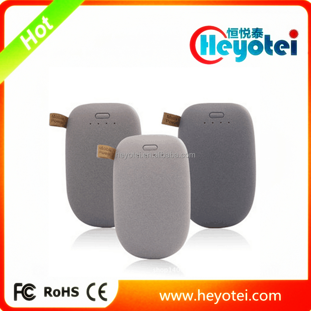 Cobblestone Power Bank 8000mAh with Private Label Cute Egg Power Bank