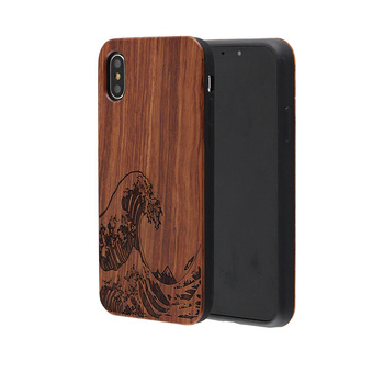 Mobile Phone & Accessories Mix Wooden Cell Phone Cases for iPhone 7 PC TPU Bumper Phone Accessories
