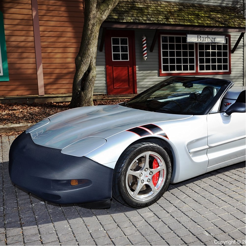All C7 2014 and Newer Corvettes Including Z51 Mirror Bra High Tech Stretch Mask Combo Fits C7 Corvette Stingray NoviStretch Front ZO6 and Grand Sport