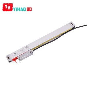 YIHAO 2019 lathe grating ruler sine wave linear digital encoder scale for milling machine