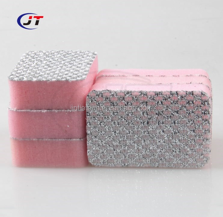 2018 Hot Sale High Quality Dish Washing Foam Sponge Scourer/ Scouring Pad/Cleaning Sponge