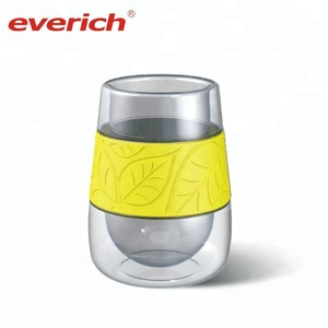 Reusable Borosilicate Glass Cup Wine Glasses Coffee Cup Tumbler