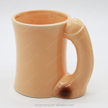penis Coffee inside cup with