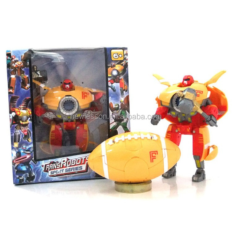 new design factory price sport deformation toys with wholesale
