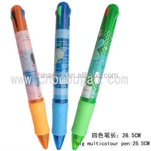 4 Color JUMBO/promotional pen/muti-color ball pen/ebay europe all product
