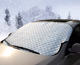 Thick Warmth Winter Automobiles Front Windshield Covers Aluminum film Cotton Portable Universal Car Snow Cover