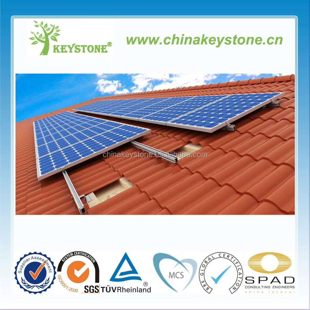 roof Solar mounting systeml for home solar panel installation