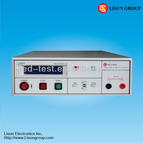Lisun LS9922I programmable insulation resistance tester with high accuracy and communicate with PC via RS232