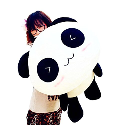 Interesting Amazing 70 CM Cute Panda Pillow Soft Plush Toy Stuffed Smiling Lying Animal