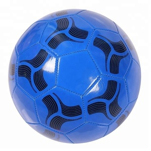 Wholesale Machine Stitched Machine Sticking PVC Soccer Football Ball