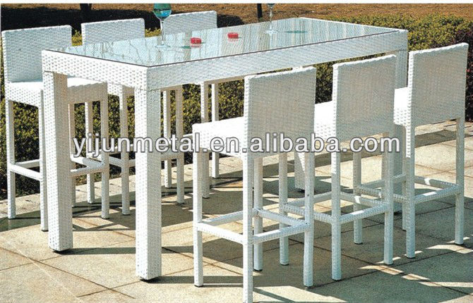 product detail bar stools and table for garden
