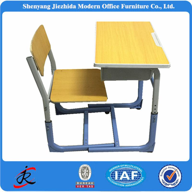 universidad moderna colorida combo madera nios adjunto sola escuela estudiante escritorio y silla ajustable