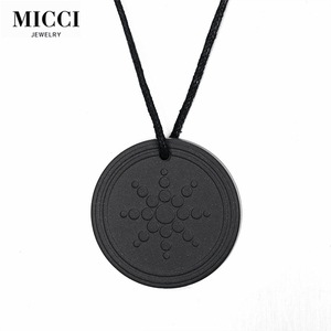 Health jewelry quantum scalar negative Ion energy pendant
