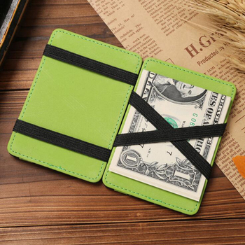 2964d7ed6332 Fashionable Strip pattern hasp money clip wallet card holder mens wallets