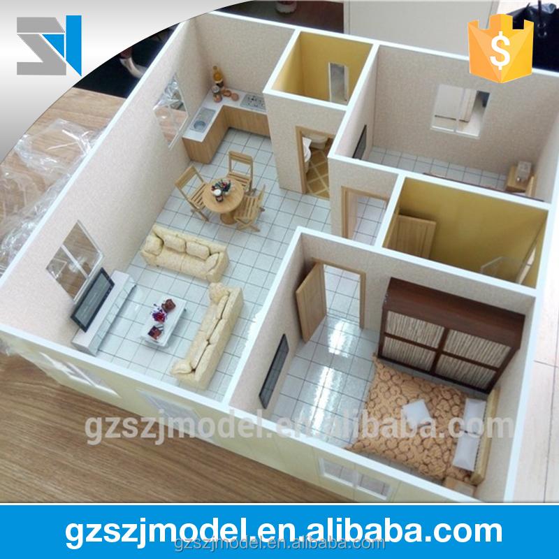 Interior Design Model Making House