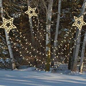 get quotations shooting star indooroutdoor decorative holiday lights