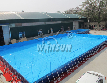 Inflatable Portable Large Indoor Outdoor Rubber Swimming Pool - Buy Outdoor  Rubber Swimming Pool,Large Outdoor Swimming Pools,Large Indoor Outdoor ...