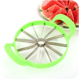 Big Size Stainless Steel Watermelon Cutter Cantaloupe Melon Slicer Kitchen  Fruit Divider Tool