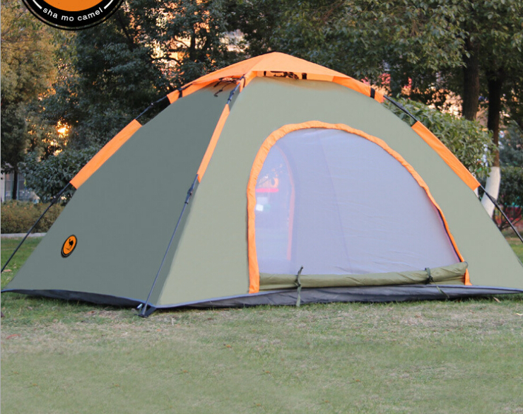 Heated Camping Tents Outdoor Tent For 3 4 People For