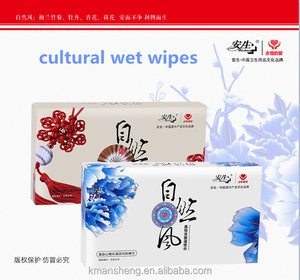 Make-up remove cleaning cotton wet wipes