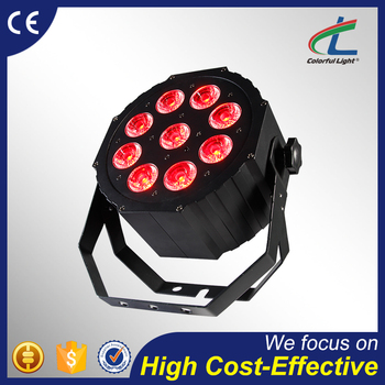 cool white 9x12W 5in1 or 6in1 LED Par zoom stage light for night club
