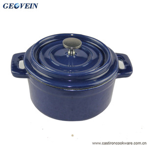 2017 latest mini cocotte casserole dish enamel casserole set with good quality and best price