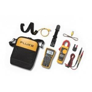 Fluke 116/323 116 True-RMS Digital Multimeter/323 True-RMS Clamp Meter HVAC Combo Kit-2PK