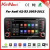 Kirinavi WC-AD7683 android 5.1 car dvd gps for audi a3 s3 2003-2011 navigation multimedia car stereo wifi 3g bt playstore
