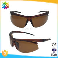 OEM brand stock sporting brown lens TR90 sunglasses for eyewear