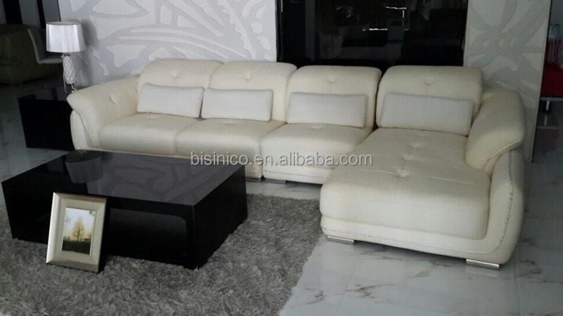zachte beige sectionele bank 3 pct woonkamer set sofa bank en een ...