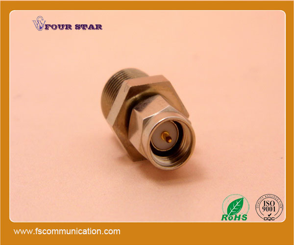 SMA plug to F connector jack male coaxial adapter