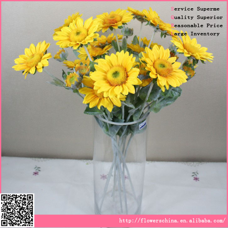 High Quality and Cheap Price artificail sunflower