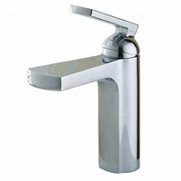 New Fashion Waterfall Faucet Lead Free Brass Bathroom Sanitary Ware