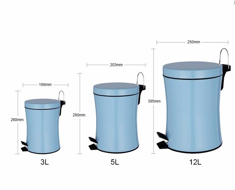 Rvs Pedaalemmer Badkamer : Rvs badkamer indoor prullenbak pedaalemmer mechanisme buy pedaal